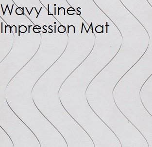 Fondant Wavy Lines Impression Mat | Delicious Creations near Chicago in Hickory Hills, IL