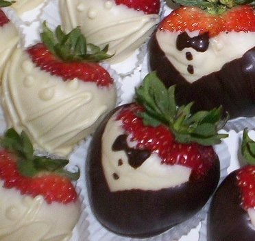 Tuxedo Strawberries  | Delicious Creations near Chicago in Hickory Hills, IL