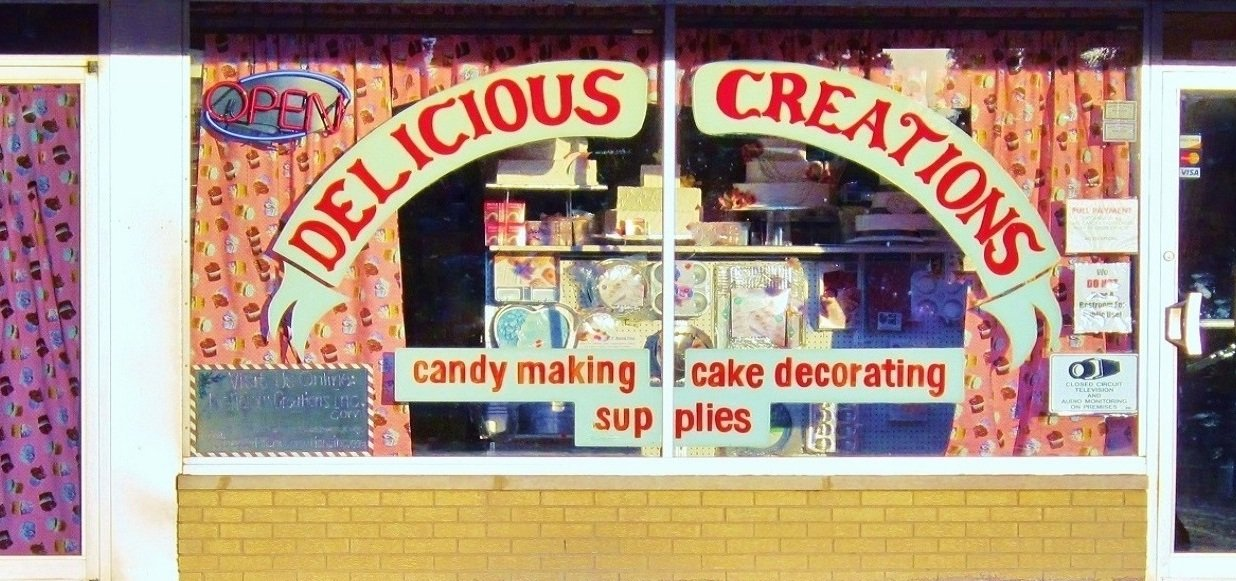 Delicious Creations | Cake Supplies, Candy Supplies, Cookie Supplies, and more near Chicago! Bakery specializing in birthday cakes, wedding cakes, pastries, and more!