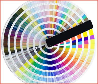 tinte ottenibili con tintometri elettronici