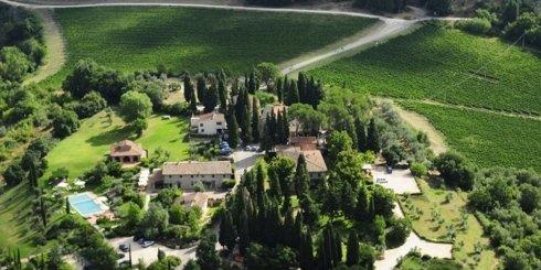 Foto aerea Fonte de Medic