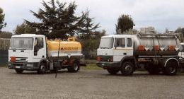 recupero di oli usati, emulsioni, servizi di raccolta dei rifiuti