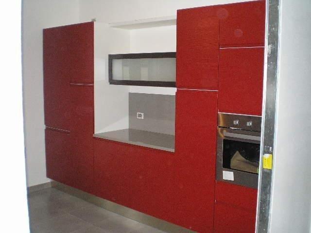 Mobile cucina rosso