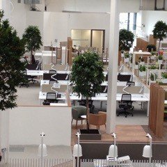 model of an office space