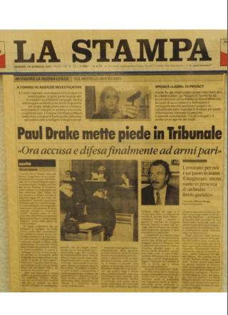 Paul Drake mette piede in tribunale