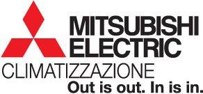 logo Mitsubishi Electrics Climatizzazione