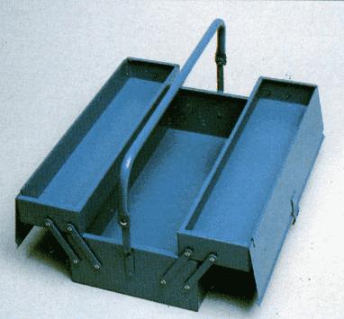 Cassetta portautensili doppio ripiano