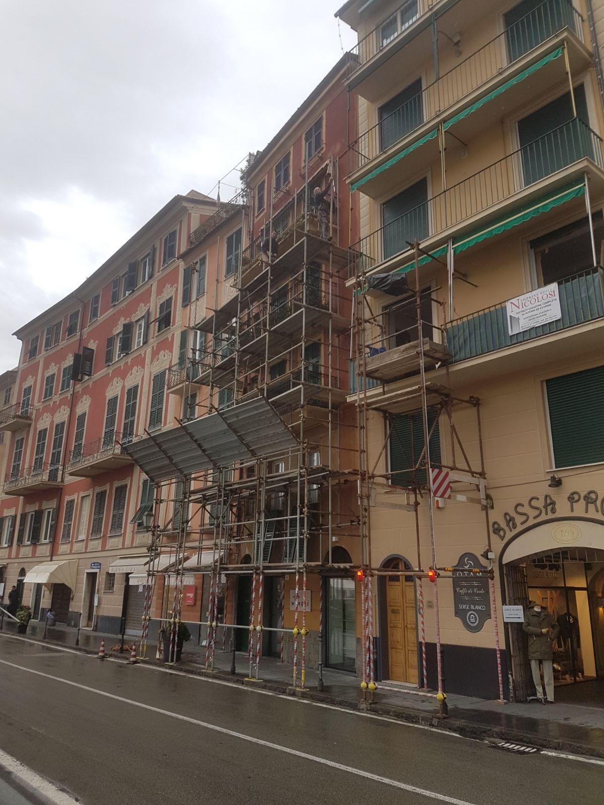 ristrutturazione facciata Nicolosi Genova