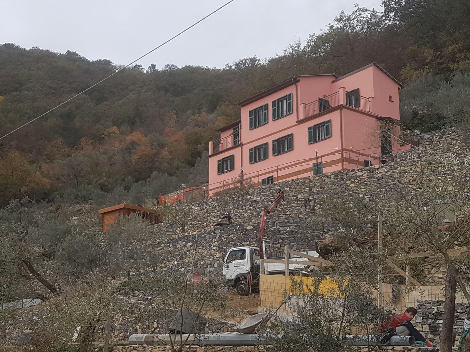 costruzione  villa impresa edile Nicolosi Genova