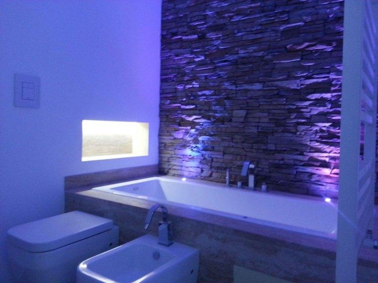 progettazione posa bagni scenografici Rapallo