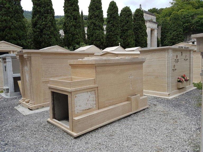 realizzazione cappella cimiteriale Nicolosi Rapallo