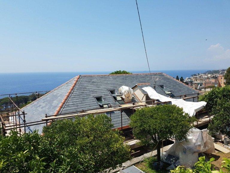 manutenzione tetto impresa edile Nicolosi Rapallo