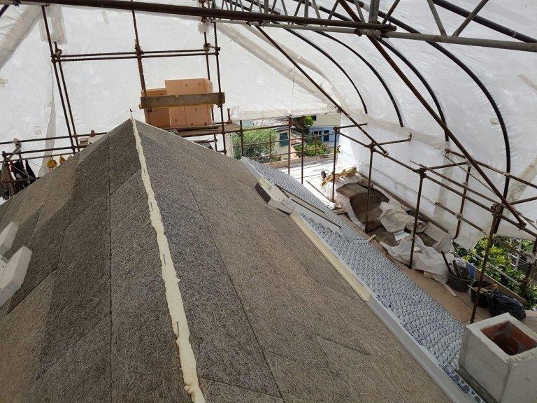 coibentazione isolamento tetto Nicolosi Rapallo