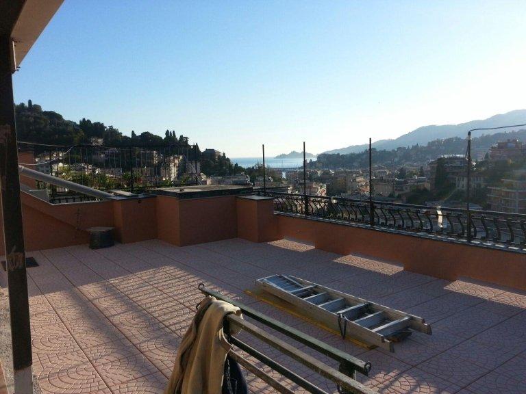 rifacimento pavimentazione terrazza Nicolosi Rapallo