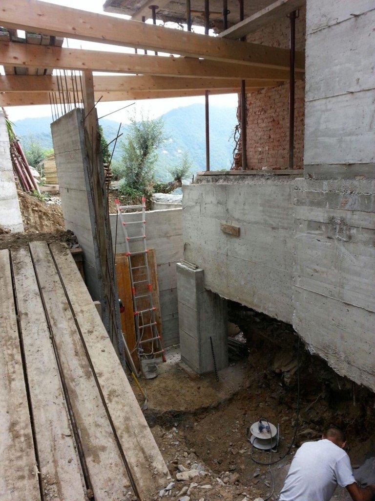 costruzioni cemento armato Nicolosi Rapallo