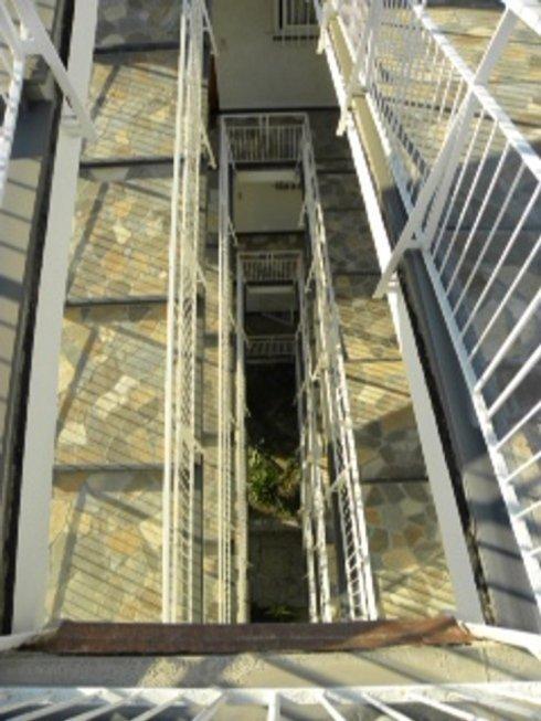 Dettaglio con vista dall alto delle rampe