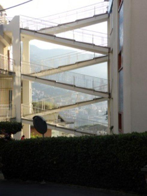 Completamento rampe di collegamento Impresa Edile Nicolosi Rapallo