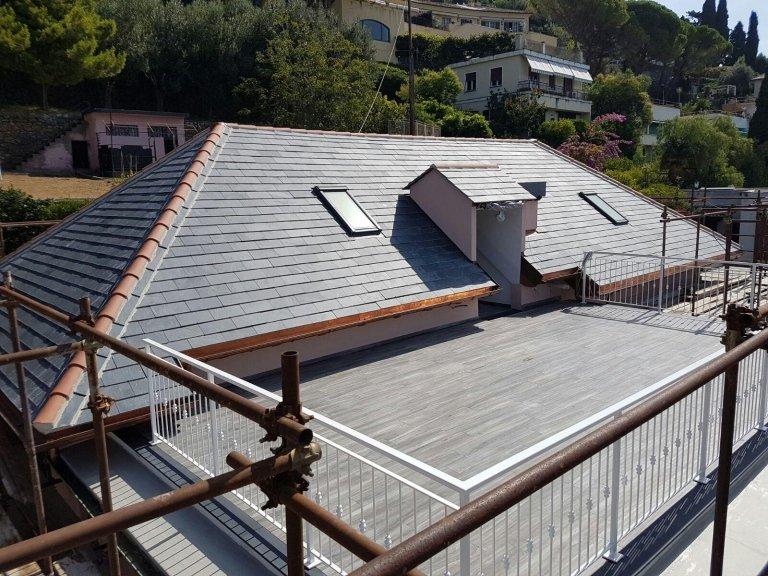 ristrutturazione tetto Nicolosi Rapallo