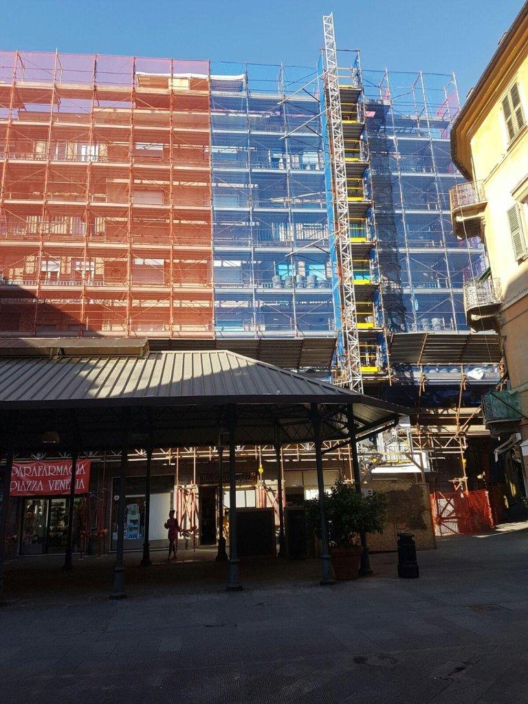 rifacimento facciata Impresa edile Nicolosi Rapallo