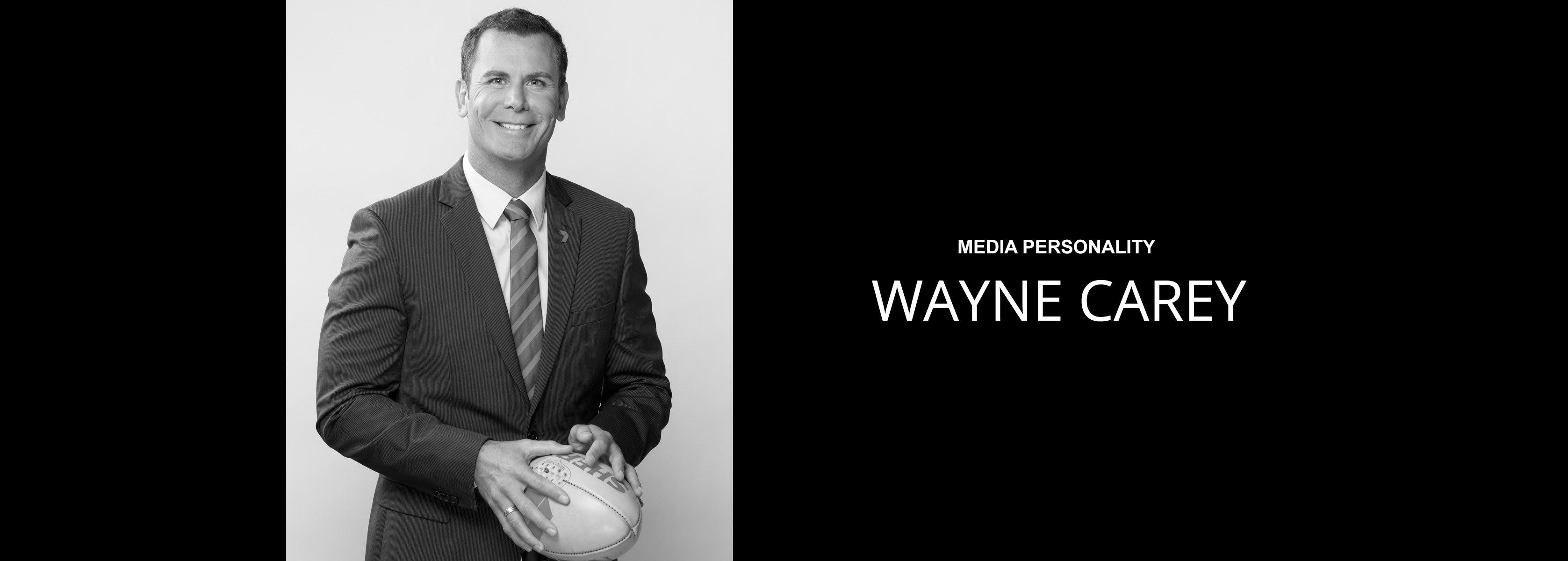 Wayne Carey - Media Personality - Bravo Talent Management