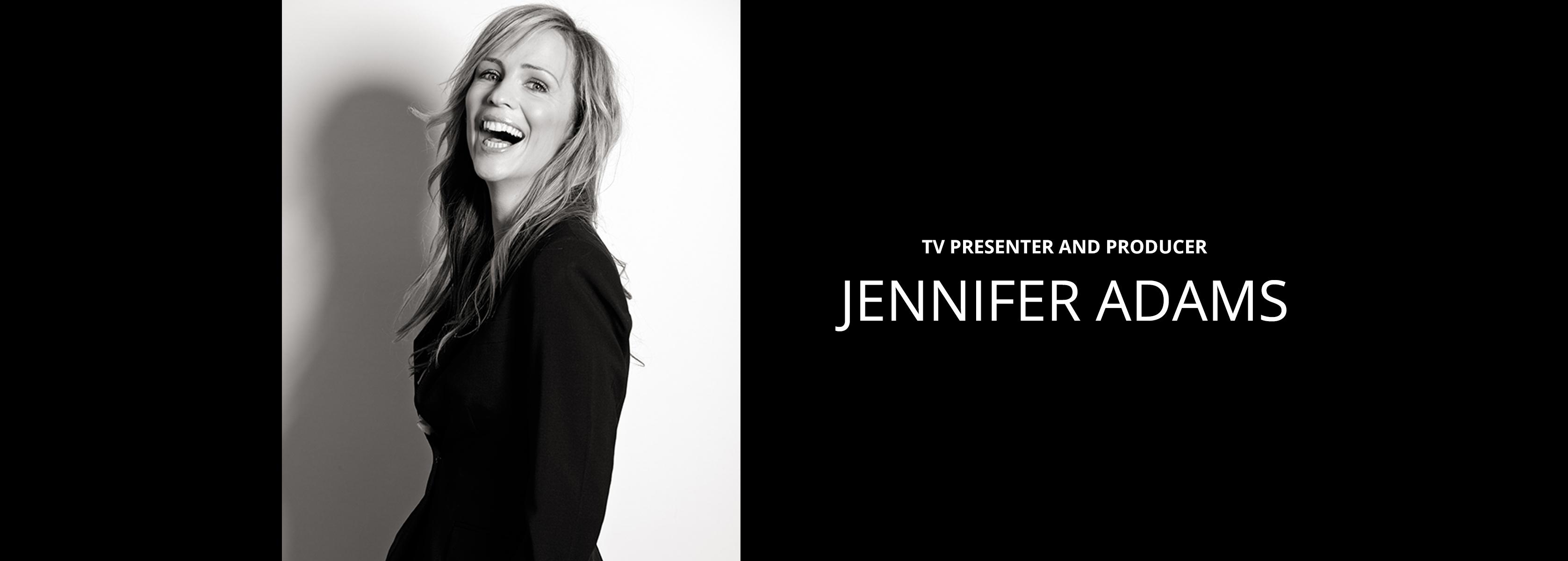 Jennifer Adams - TV Presenter and Producer - Bravo Talent Management
