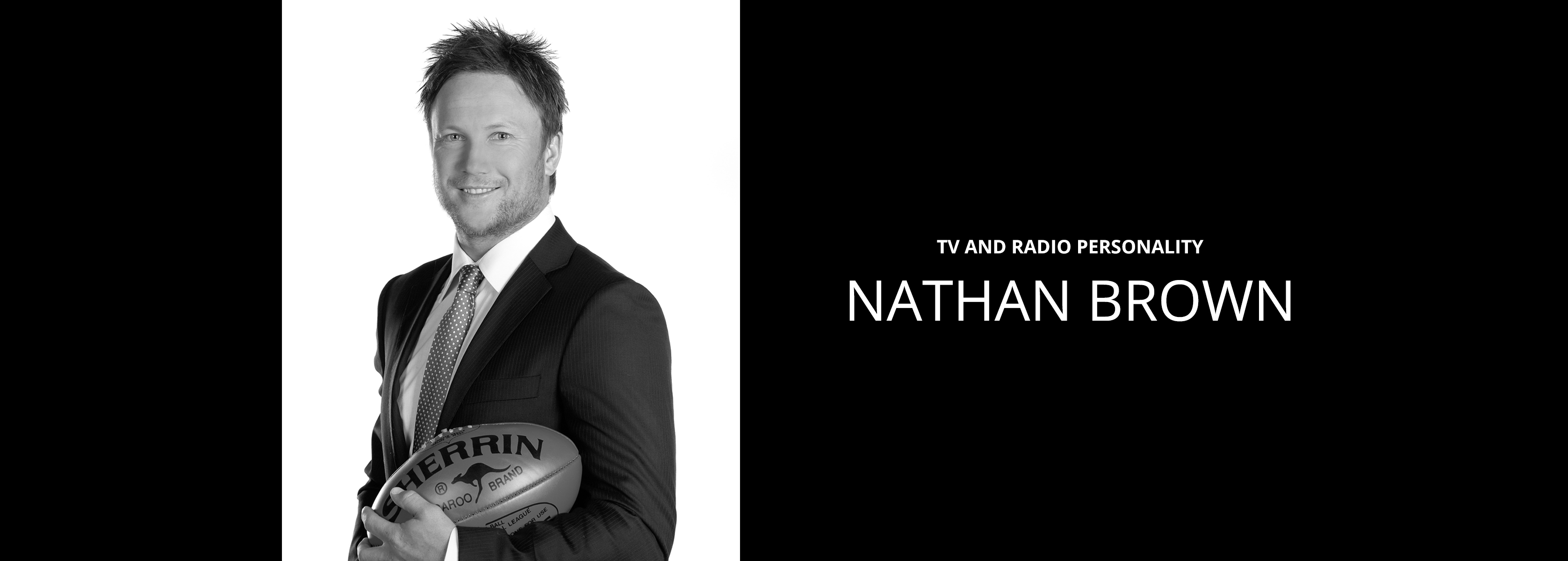 Nathan Brown - TV and Radio Personality - Bravo Talent Management