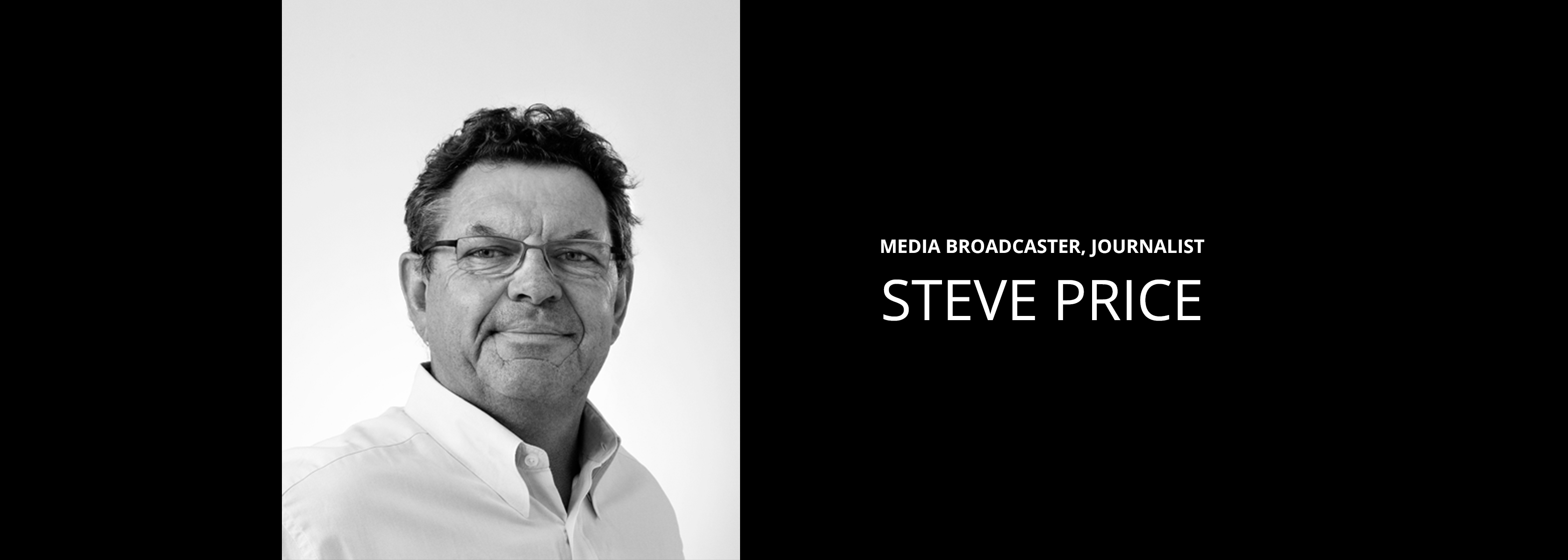 Steve Price - Media Broadcaster, Journalist - Bravo Talent Management