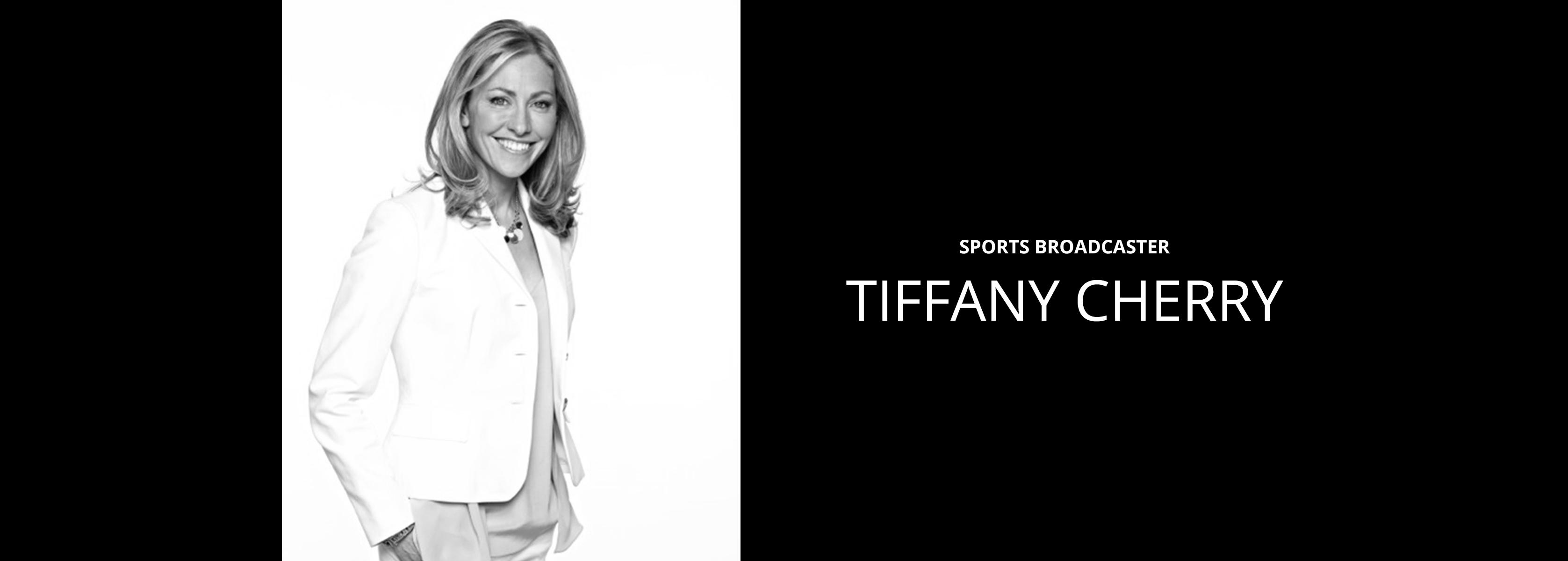 Tiffany Cherry - Sports Broadcaster - Bravo Talent Management