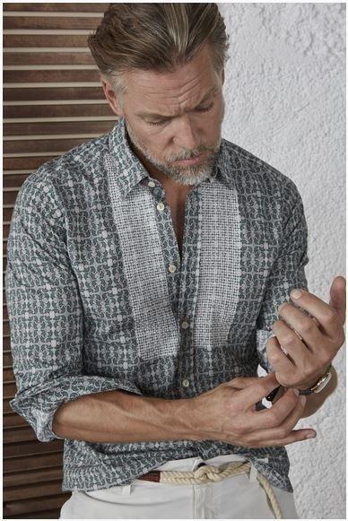 camicia tintoria mattei da manganini abbigliamento