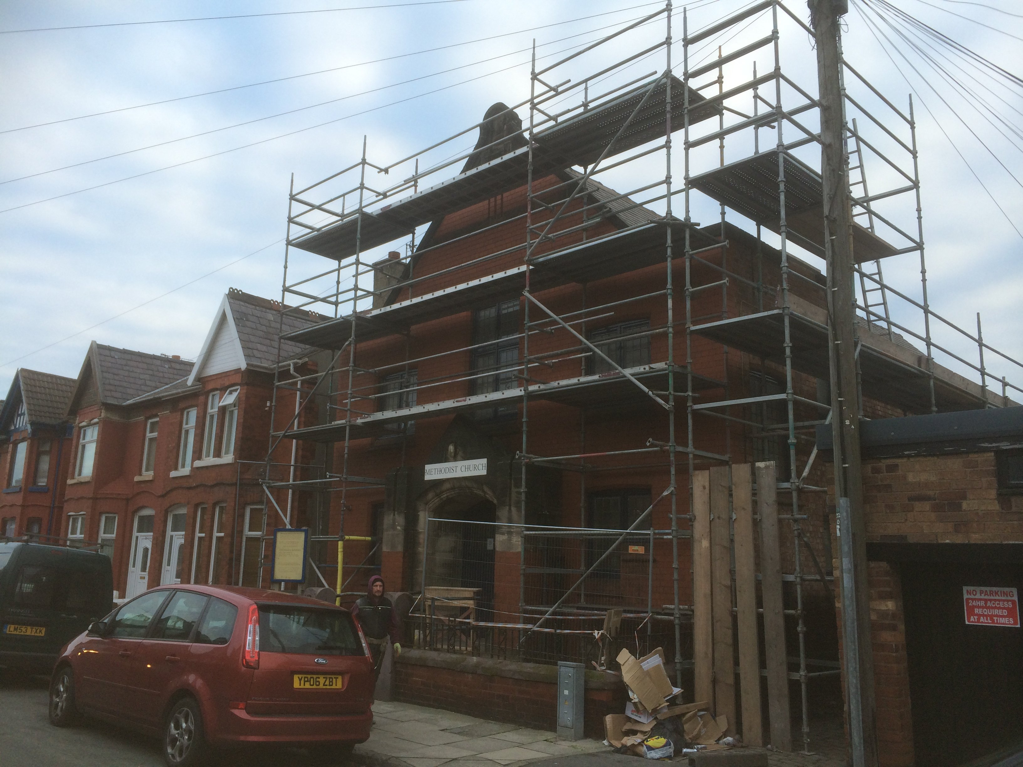 Scaffold hire services
