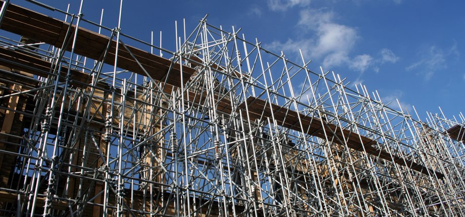 contract steel scaffolding