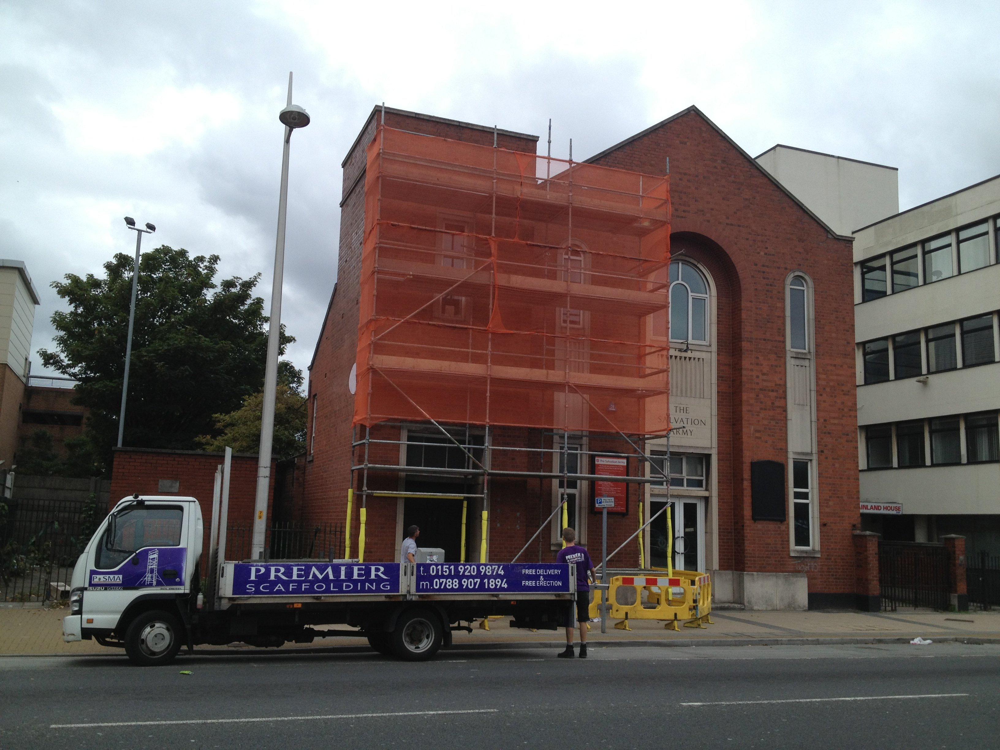 scaffolding complete