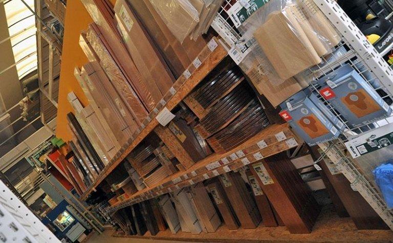 scaffalature in legno