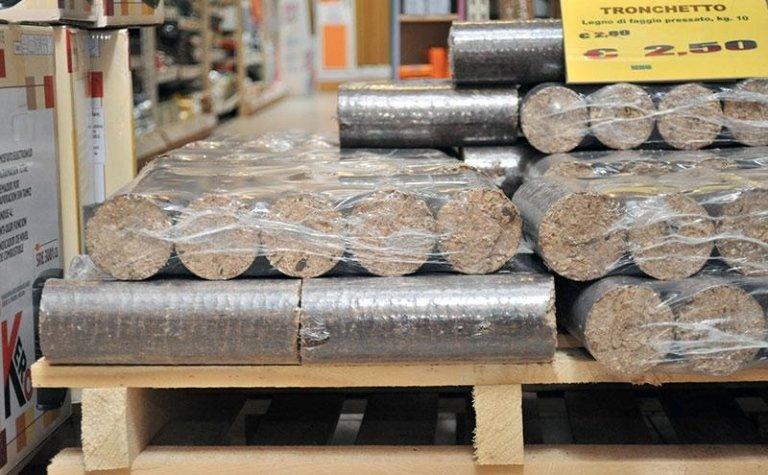 tronchetti in legno per stufe