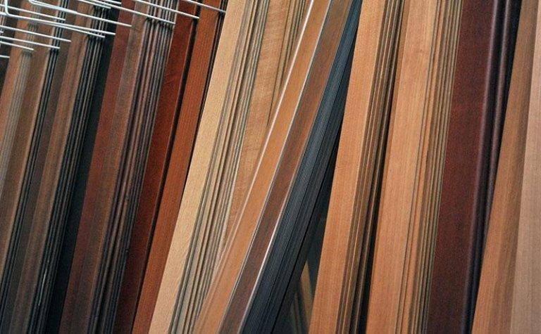 legno, perlinato e compensato