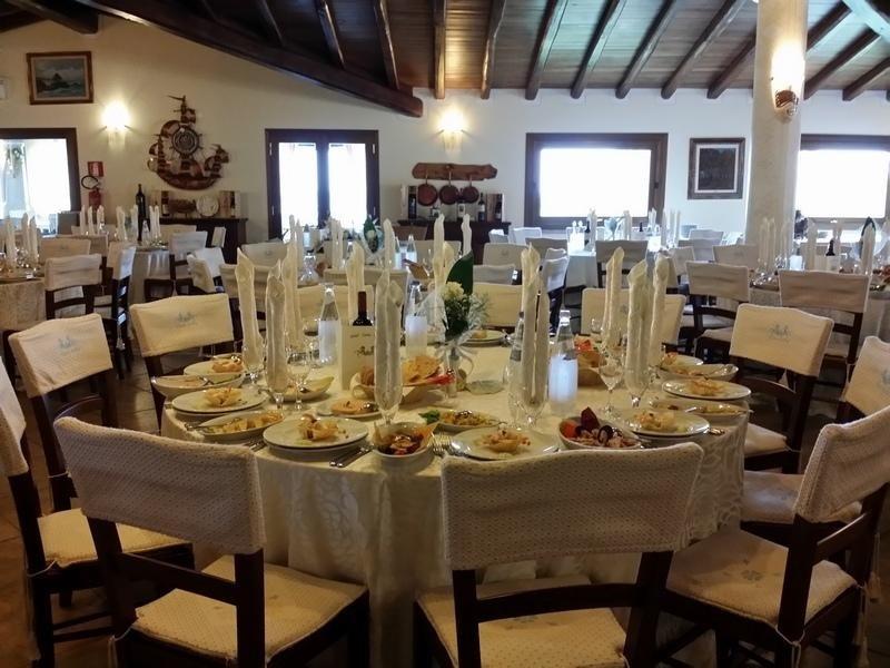 Sala banchetto San Teodoro