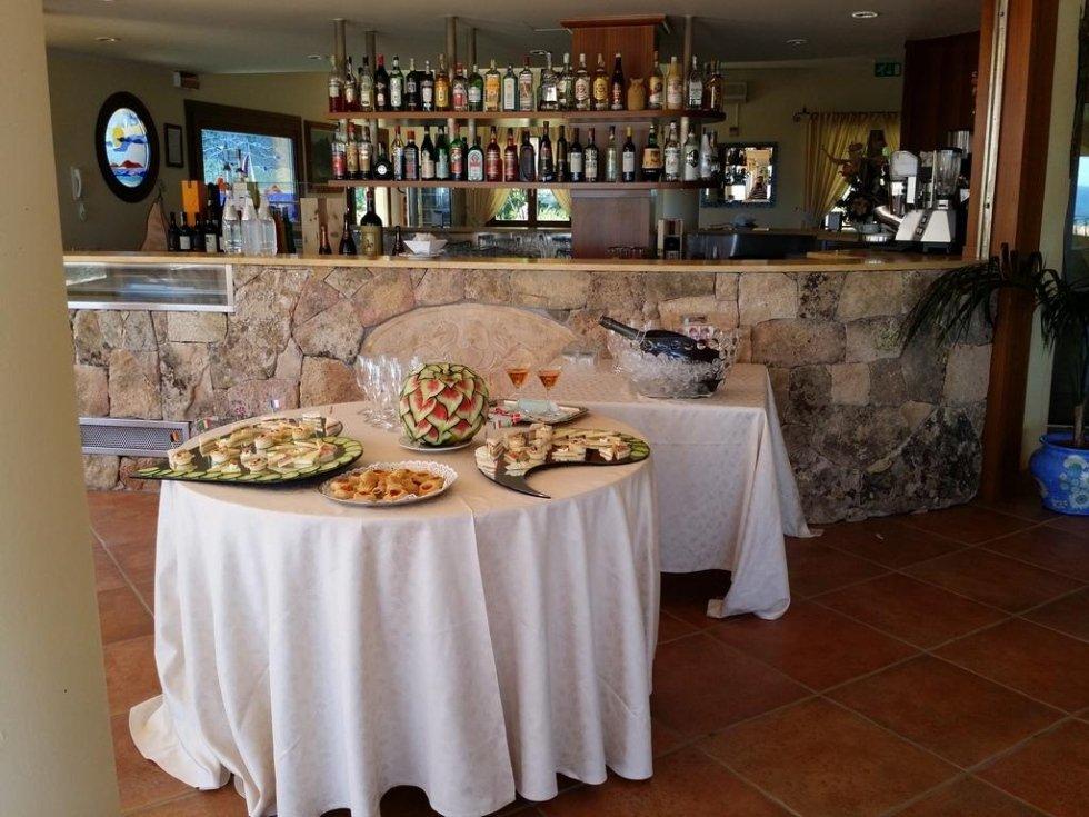 Buffet  banchetto San Teodoro