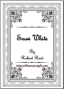 Snow White play script for kids by Robert Reed