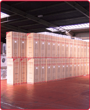 Our storage facility.