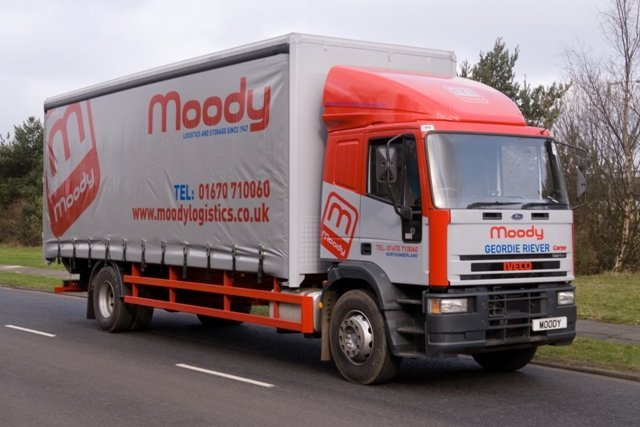 With vehicles to suit a wide range of goods, call us today on 01670 331295