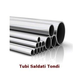 Ferro Tubi Saldati Tondi
