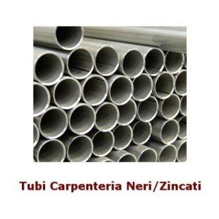 Tubi carpenteria neri/zincati