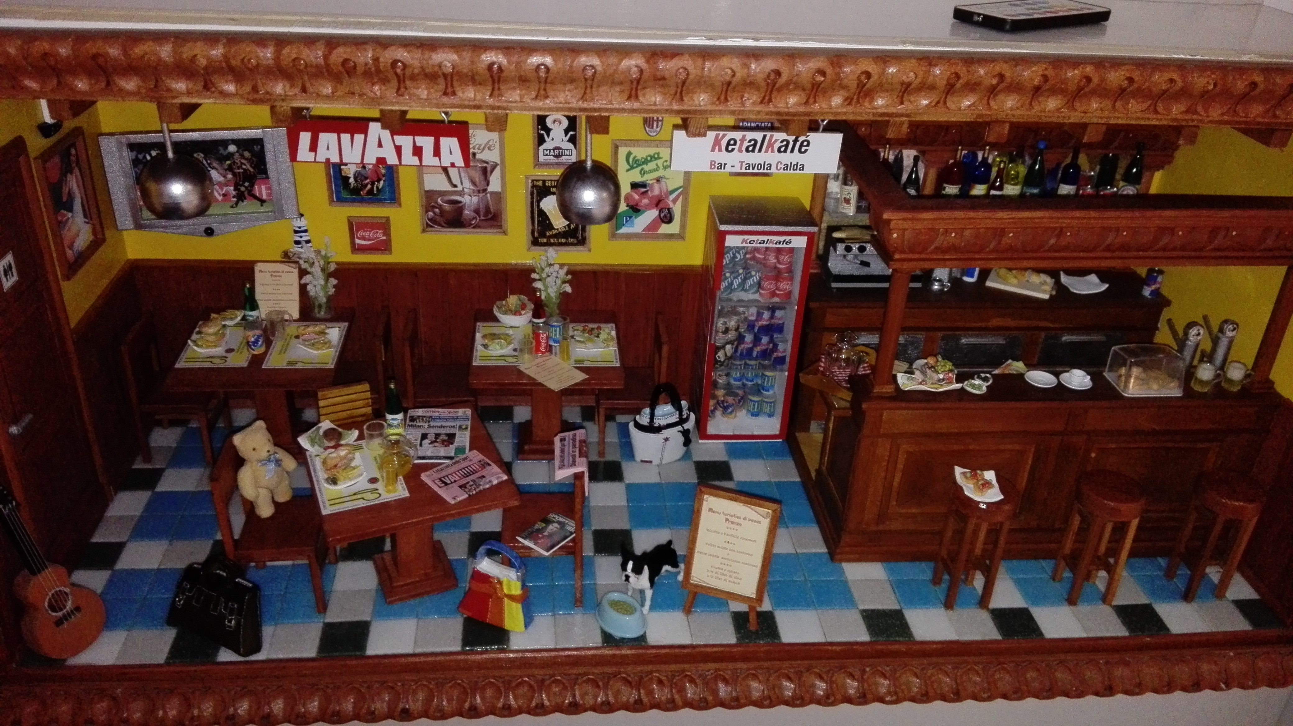 diorama bar