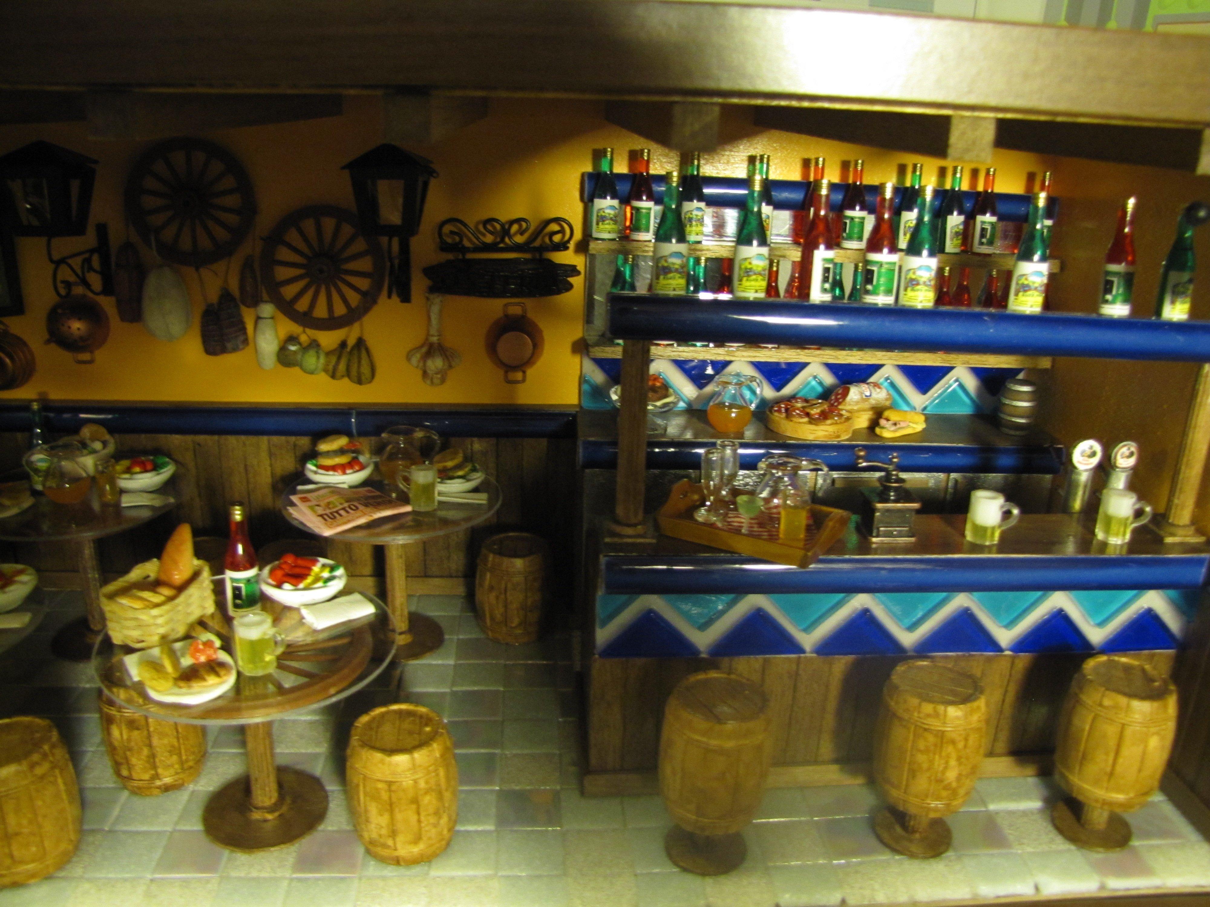 diorama pub