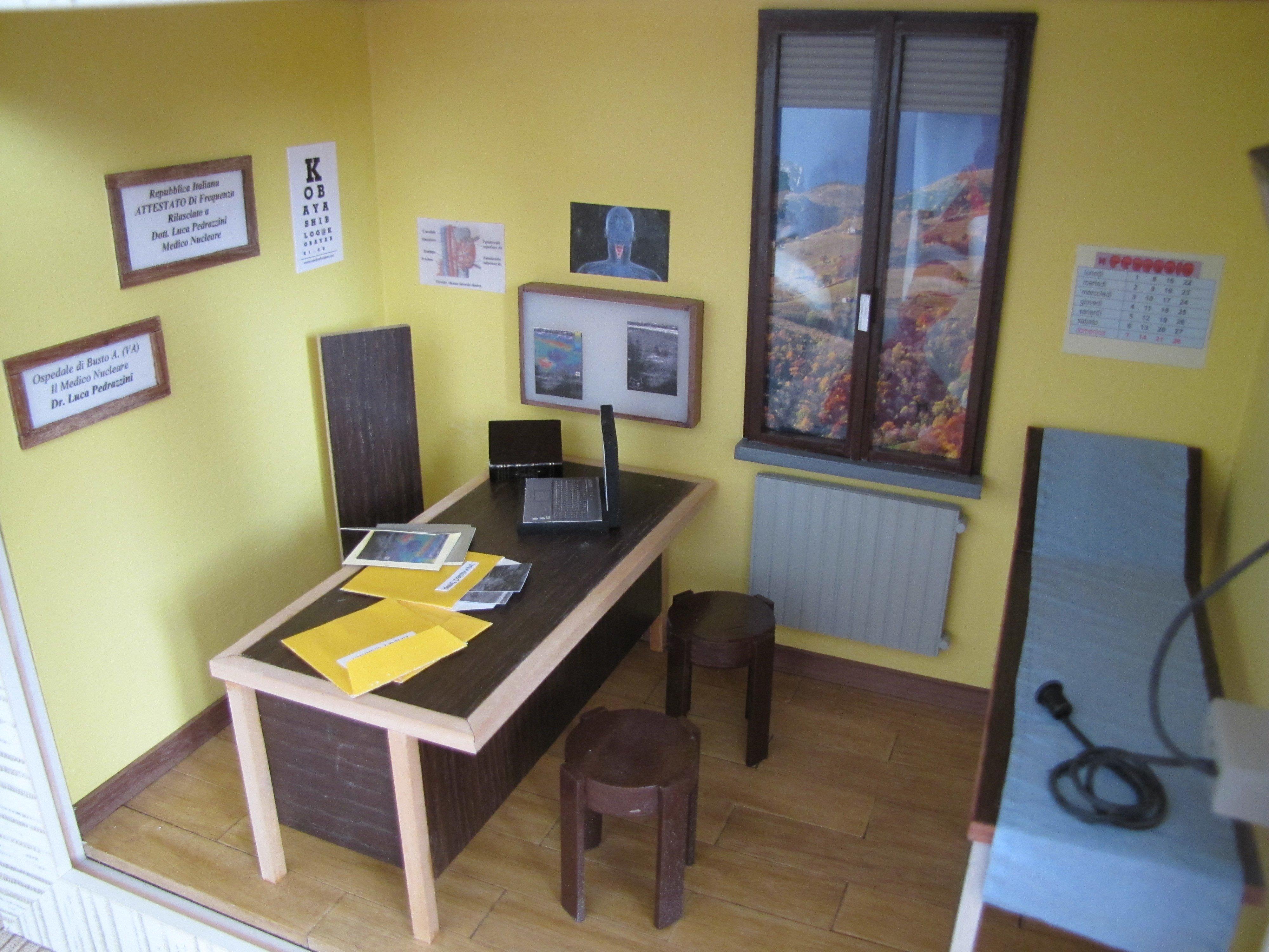 Diorama studio medico