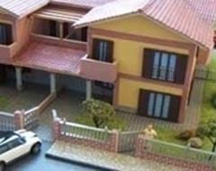 modellini di case