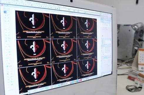 Vista digitale per stampe