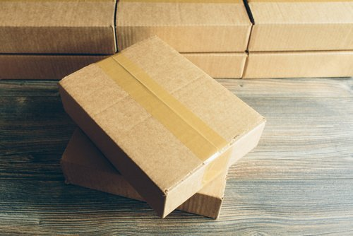 scatole di cartone