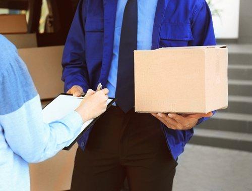 consegna di un pacco