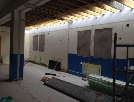 Community hall repairs